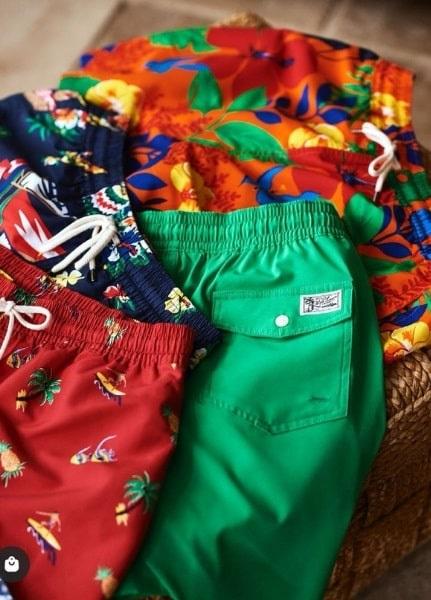 shorts de bain ralph lauren