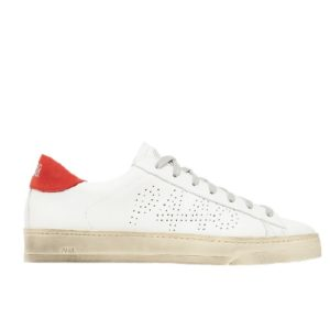 P 448 Jack white/red cuir