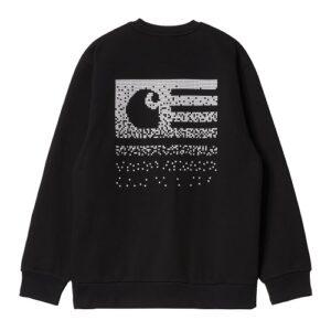 CARHARTT Sweatshirt Fade black