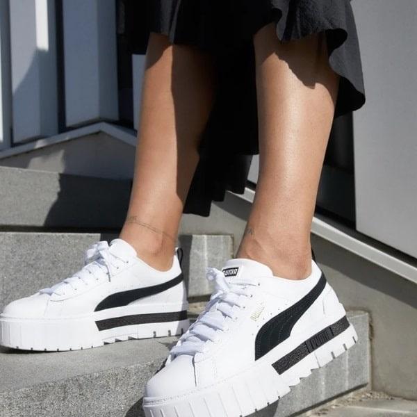 sneakers Puma femme cali chaussures Puma Mayze femme sneakers puma homme future rider Sport Aventure Orange