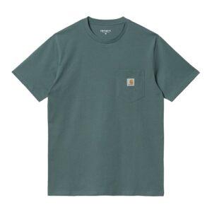 CARHARTT T-Shirt Pocket eucalyptus