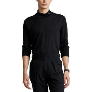 RALPH LAUREN T-shirt col black manches longues